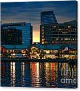Baltimore Harborplace Light Street Pavilion Canvas Print
