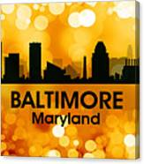 Baltimore Md 3 Canvas Print