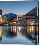 Baltimore National Aquarium At Dawn I Canvas Print