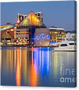 Baltimore National Aquarium At Twilight I Canvas Print