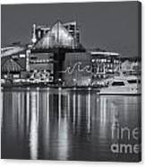 Baltimore National Aquarium At Twilight II Canvas Print