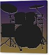 Baltimore Ravens Drum Set Canvas Print