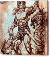 Baltog Bicol Epic Canvas Print
