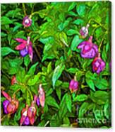 Bama Blooms Canvas Print
