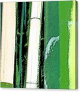 Bamboo Abstraction Canvas Print