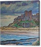 Bamburgh  Canvas Print