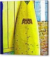 Banana Board Canvas Print