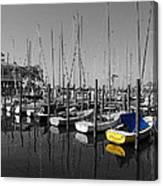 Banana Boat Canvas Print