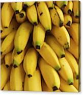Bananas At The Saturday Market, San Canvas Print