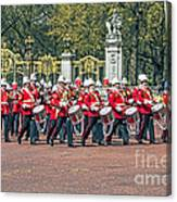Band Of The Guard Canvas Print