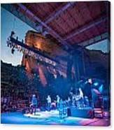 Band On Stage Canvas Print