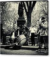 Band On Union Square New York City Canvas Print