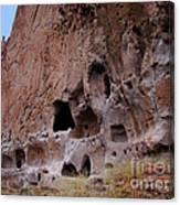 Bandelier Cave Lineup Canvas Print