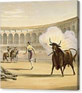 Banderillas De Fuego, 1865 Canvas Print
