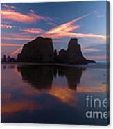 Bandon Beach Skies Canvas Print