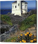 Bandon Lighthouse Canvas Print