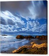 Bandon Nightlife Canvas Print