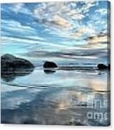 Bandon Rock Garden Canvas Print