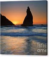 Bandon Sundown Canvas Print
