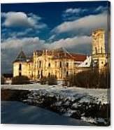 Banffy Castle In Transylvania Canvas Print