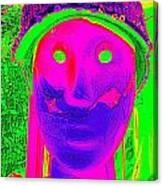Banged Up Beatnick Canvas Print