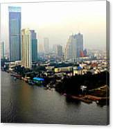 Bangkok In Early Morning Light Canvas Print