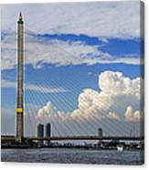 Bangkok - Rama Viii Bridge Canvas Print