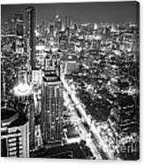 Bangkok Skyline 1 - Thailand Canvas Print