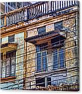 Bangkok Slum Housing Canvas Print