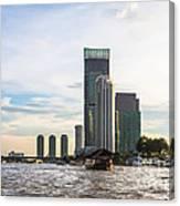 Bangkok Towers Canvas Print
