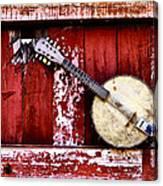 Banjo Mandolin - American Music Canvas Print
