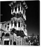 Bank Of America Building And Tower In Downtown Celebration Florida Usa Canvas Print