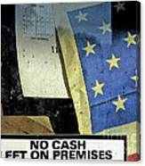 Bankrupt America Canvas Print