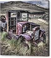 Bannack Ghost Town Truck - Montana Canvas Print