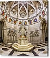 Baptistry At Saint John The Divine Cathedral Canvas Print