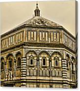 Baptistry - Florence Italy Canvas Print