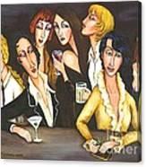 Bar Dykes Canvas Print