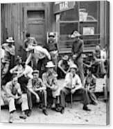 Bar Front, 1940 Canvas Print