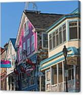 Bar Harbor Downtown  Canvas Print