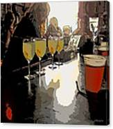 Bar Scene - Absinthe At Pirates Alley Canvas Print