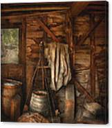 Bar - Weighing The Hops Canvas Print