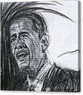 Barack Obama 1 Canvas Print