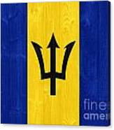 Barbados Flag Canvas Print