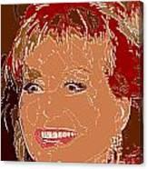Barbara Walters Canvas Print