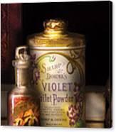 Barber -  Sharp And Dohmes Violet Toilet Powder  Canvas Print