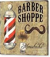 Barber Shoppe 1 Canvas Print