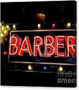 Barber This Way Canvas Print