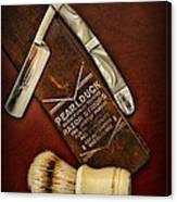 Barber - Tools For A Close Shave  Canvas Print