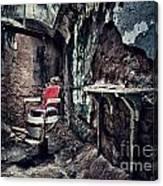 Barber's Chair Canvas Print