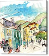 Barca De Alva Houses 01 Canvas Print